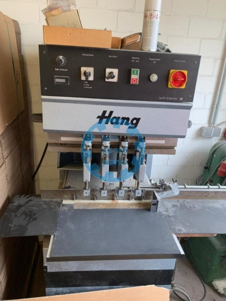 HANG paper drilling with 4 heads