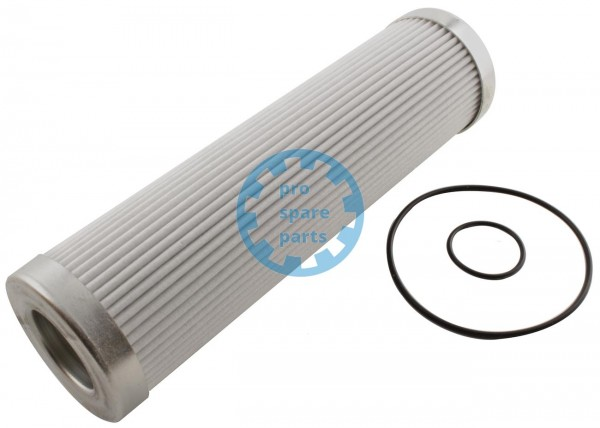 Filter insert central greasing